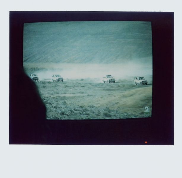 Magnolia Soto. Apuntes sobre el consumo de imágenes de paisaje 10 . 2001. Polaroid. 8,8 X 10,7cm.
