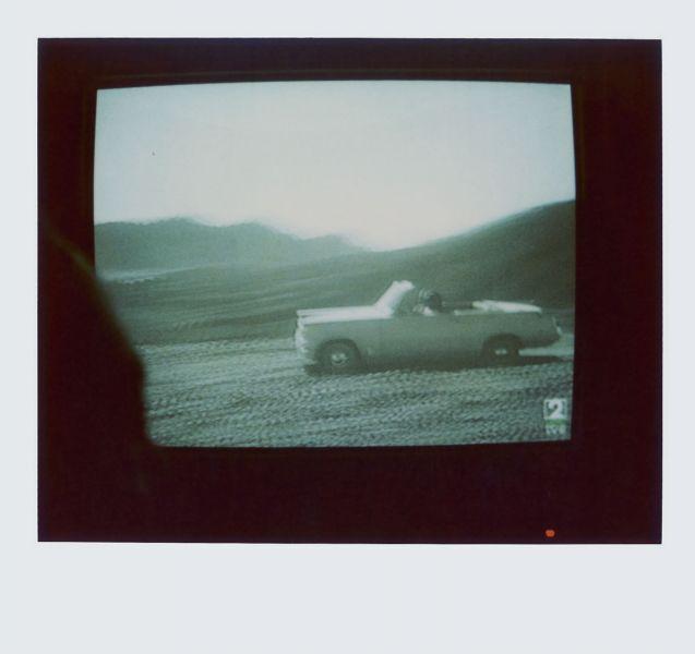 Magnolia Soto. Apuntes sobre el consumo de imágenes de paisaje 11. 2001. Polaroid. 8,8 X 10,7cm.