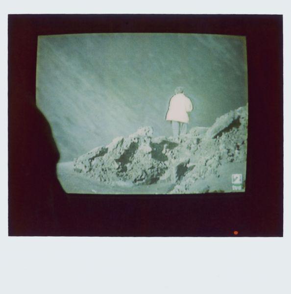 Magnolia Soto. Apuntes sobre el consumo de imágenes de paisaje 18. 2001. Polaroid. 8,8 X 10,7cm.