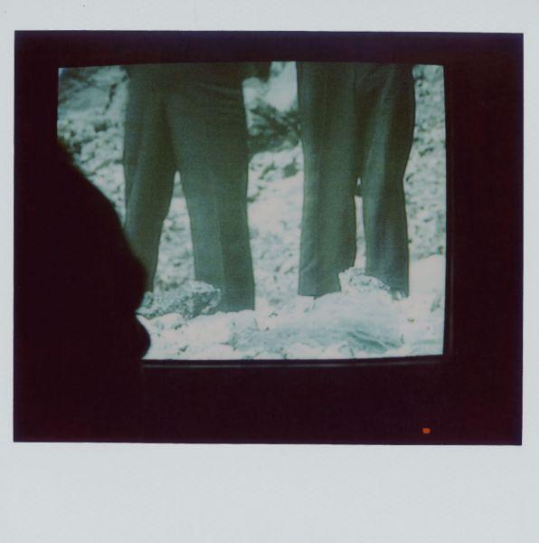 Magnolia Soto. Apuntes sobre el consumo de imágenes de paisaje 20. 2001. Polaroid. 8,8 X 10,7cm.