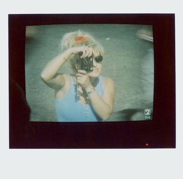 Magnolia Soto. Apuntes sobre el consumo de imágenes de paisaje 7. 2001. Polaroid. 8,8 X 10,7cm.