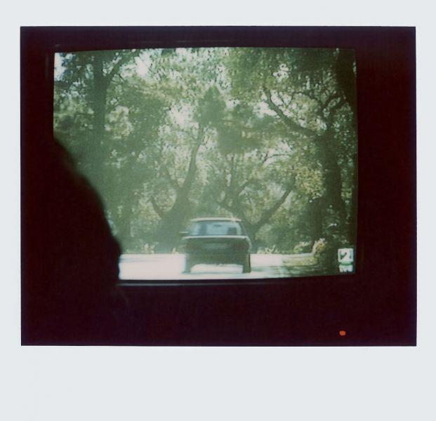 Magnolia Soto. Apuntes sobre el consumo de imágenes de paisaje 9. 2001. Polaroid. 8,8 X 10,7cm.