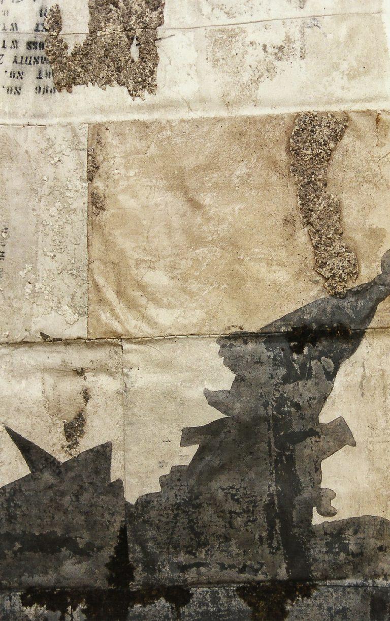 Magnolia Soto. Sin título. 1996. Técnica mixta. 138 x 148 cm. (detalle)