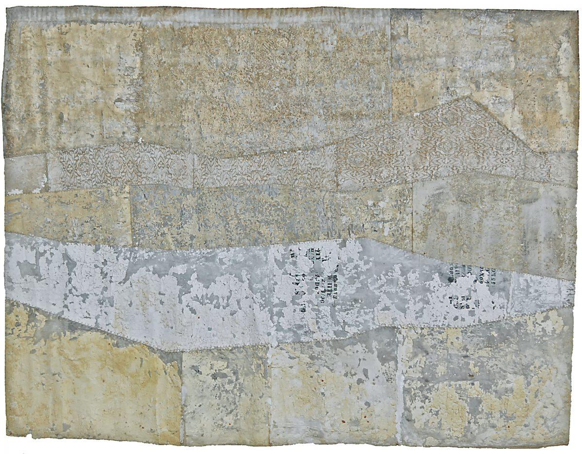 Magnolia Soto. Sin título. 1997. Técnica mixta. 220 x 283 cm.
