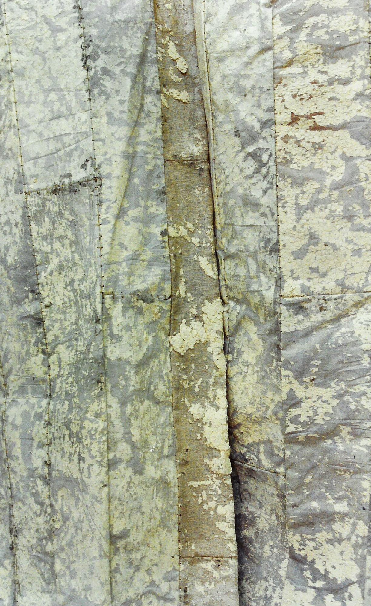 Magnolia Soto. Saco de dormir. 1997. Técnica mixta. 260 x 98 cm. (detalle)