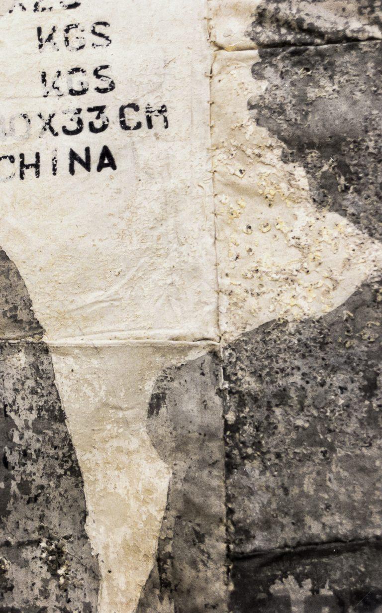 Magnolia Soto. Sin título. 1996. Técnica mixta. 125 x 183 cm. (detalle)