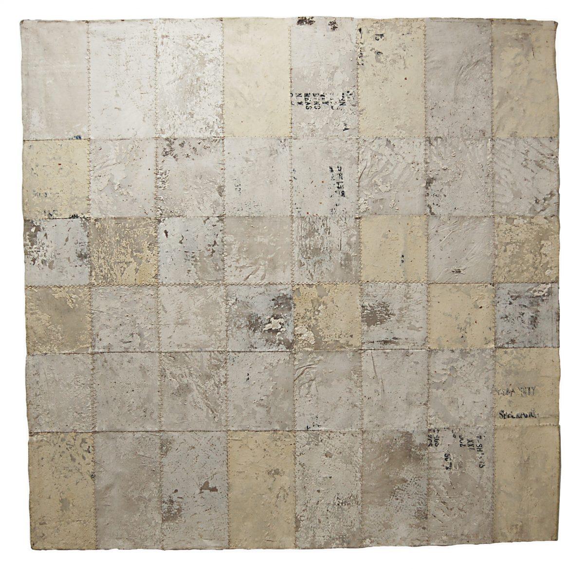 Magnolia Soto. Sin Título. 1997. Técnica mixta. 200 x 197 cm.