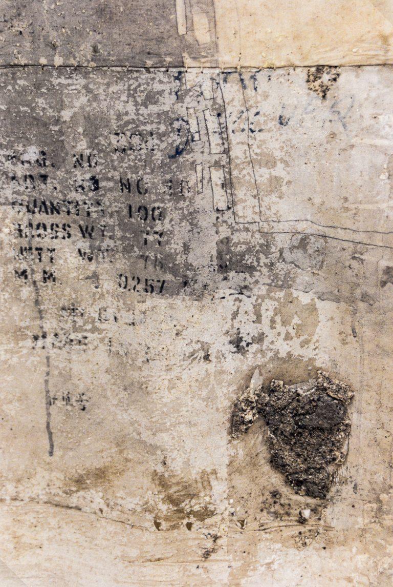 Magnolia Soto. Sin título. 1996. Técnica mixta. 130 x 205 cm. (detalle)