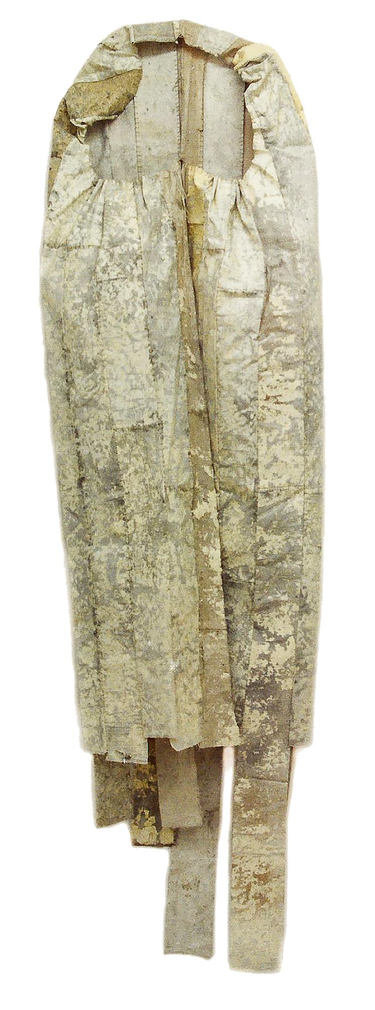 Magnolia Soto. Saco de dormir. 1997. Técnica mixta. 260 x 98 cm.