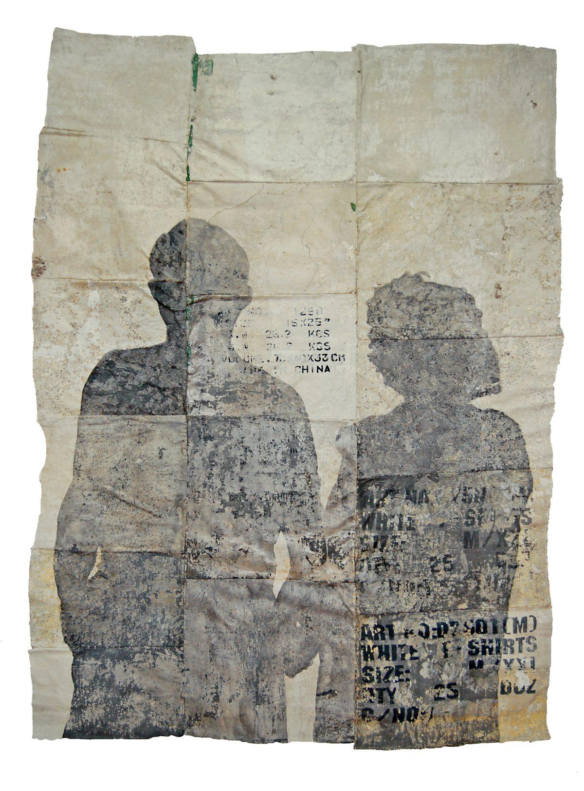 Magnolia Soto. Sin título. 1996. Técnica mixta. 183 x 125 cm.