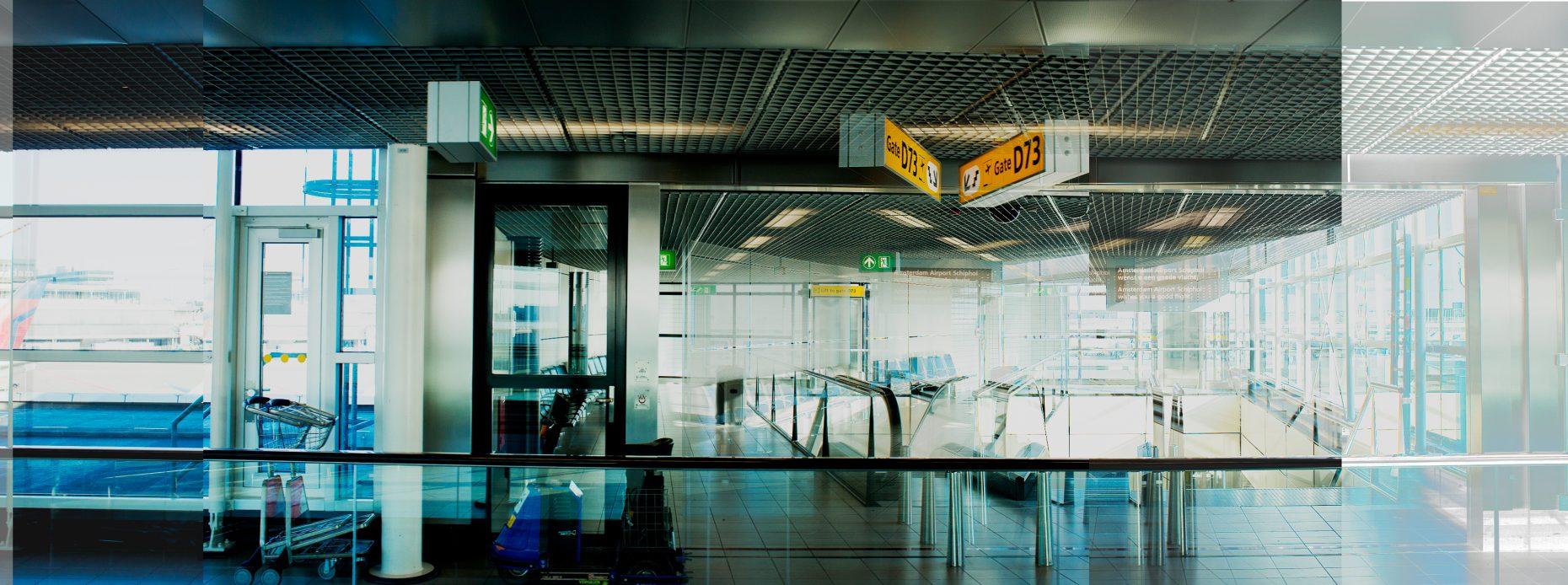 Magnolia Soto. Panoramic Airport 12-13-14-15-16-7. 2015. Fotografía. Medidas Variables.