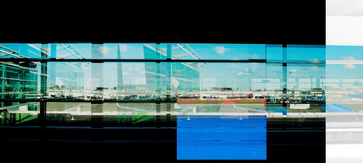 Magnolia Soto. Panoramic Airport 17-25-3. 2015. Fotografía. Medidas Variables.
