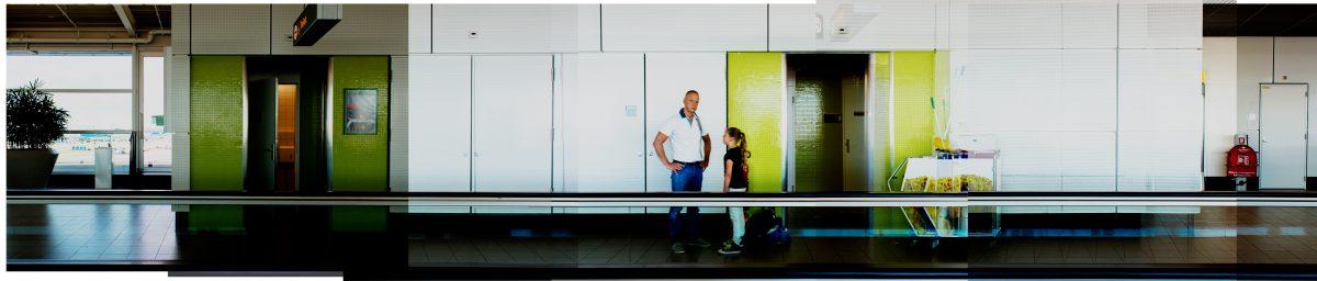 Magnolia Soto. Panoramic Airport 40-45-4. 2015. Fotografía. Medidas Variables.